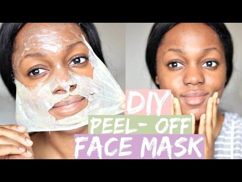 DIY GELATIN FACEMASK for blackheads, oily skin, dry skin | Luchi Loyale