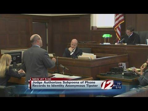 Hernandez Judge Orders Phone Record Subpoena For Tipster's Identity