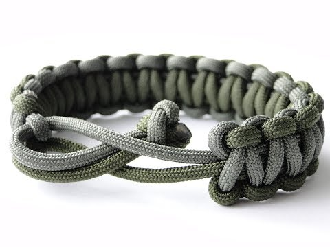 "How to Make a ""Mad Max Style""-Quick Unravel Paracord Survival Bracelet- 4 Core Cobra Knot"