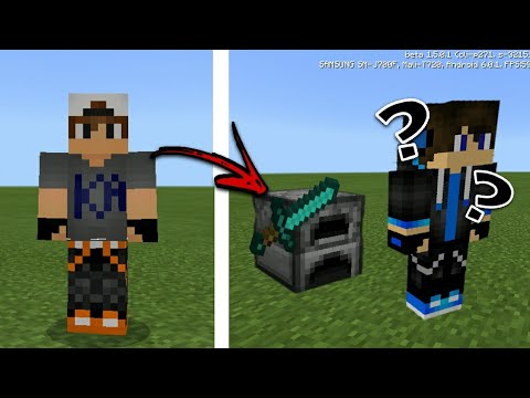 MCPE How To Become A Block Tutorial
