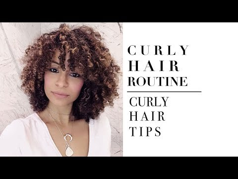 Curly Hair Routine With Vernon Francois I Curly Hair Tips
