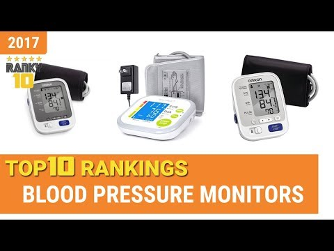 Blood Pressure Monitors Top 10 Rankings, Reviews 2017 & Buying Guides