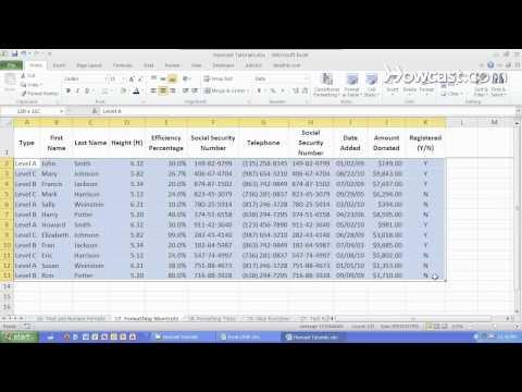 Essential Formatting Shortcuts Microsoft Excel