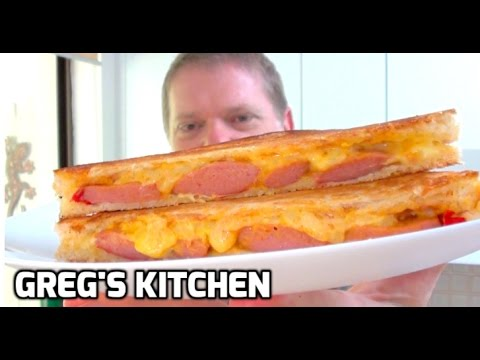 HOW TO MAKE HOT DOG TOASTED SANDWICH - Greg's Kitchen