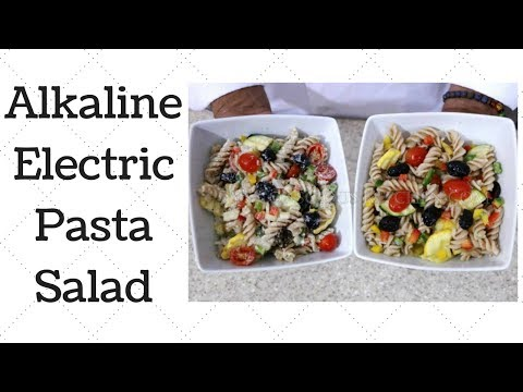 Pasta Salad Dr. Sebi Alkaline Electric Recipe