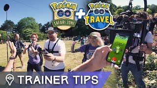 BEHIND THE SCENES AT SAFARI ZONE DORTMUND - SECRET YOUTUBER PROJECT!