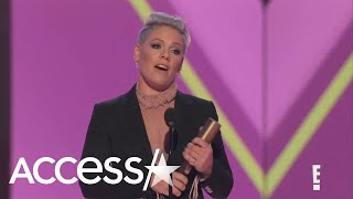 Pink Inspires Everyone With Passionate Speech: 'I Don't Care About Your Politics, I Care About Your