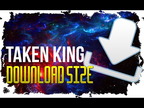 Destiny The Taken King DOWNLOAD SIZE 18GB or more for XB1 and PS4 Xbox 360 and PS3 Smaller