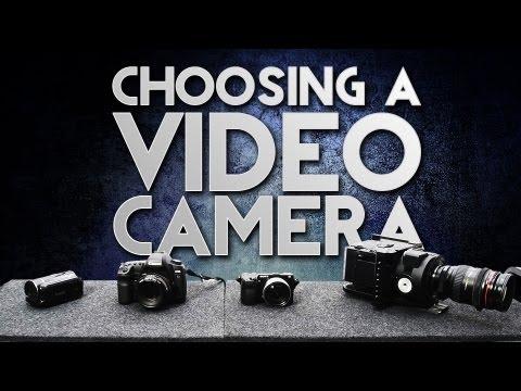 DVTV - Choosing a Video Camera