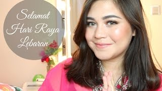 Hari Raya Lebaran makeup tutorial (Drugstore) | SarahAyu