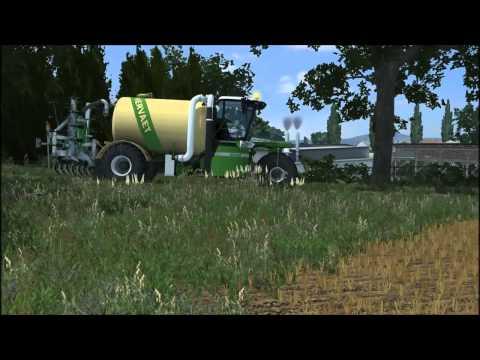 Farming Simulator 2013 - Driving liquid manure