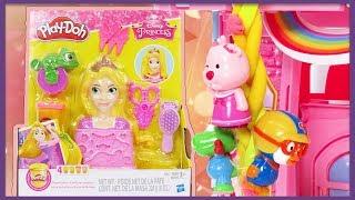 라푼젤의 긴 머리로 친구들을 구해요! 플레이도우 라푼젤 만들기 놀이  Play-Doh Disney Princess Rapunzel   Good Toy 안녕이