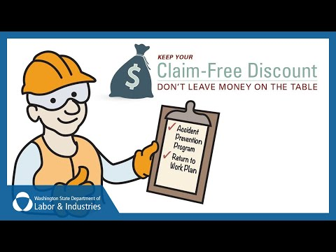 Washington Workers' Compensation Insurance:  The Claim-Free Discount