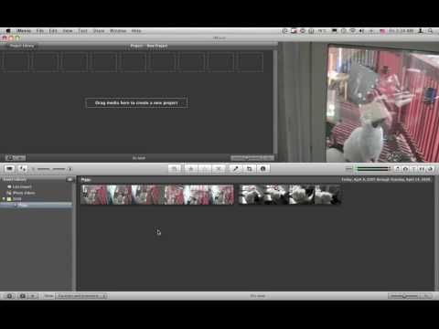 How to get video into your iMovie project