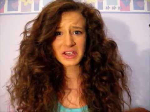Curly Hair Series: Messy Bun