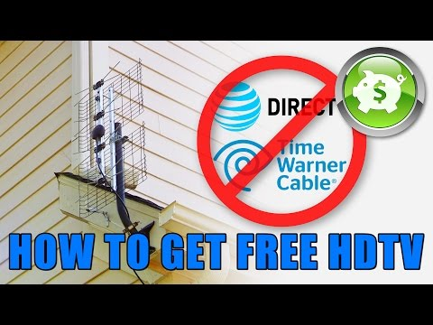 How To Install An HDTV Antenna And Get Free High Definition Television