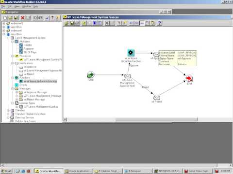 9 creating Function for leave deduction in workflow builder in oracle apps r12
