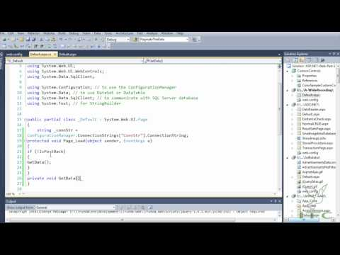 How to work with nested GridView in ASP.NET