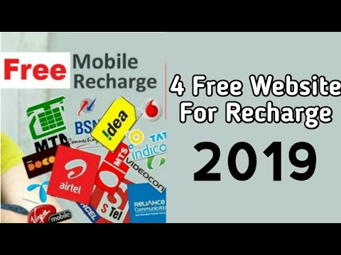 4 Websites To Earn Free Mobile Recharge and Talktime Online