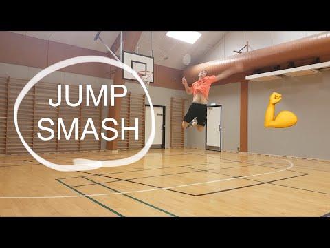 BADMINTON TECHNIQUE #10 - JUMP SMASH