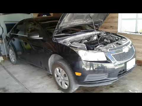 Chevy Cruze oil cooler gasket replacement