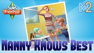 Sims FreePlay - Nanny Knows Best Quest (Tutorial & Walkthrough)