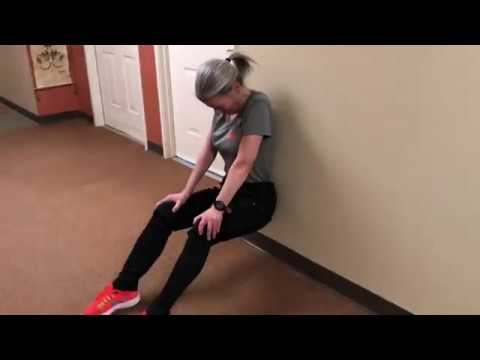 Fairwinds Brighton Court's Wall Sit Challenge