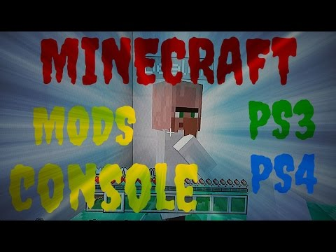 Minecraft Console PS3 PS4 Mods Custom Villagers Trades