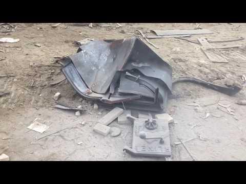 UCAIR Wood Stove Destruction