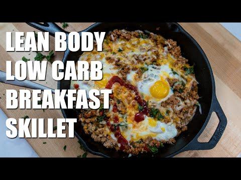 Lean Body LOW CARB Breakfast Skillet Recipe