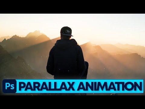 Photoshop Tutorial: Fotos in Bewegung bringen (Parallax Effekt)