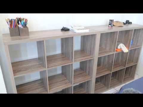 9 Cube Organizer Storage Bookcase Bookshelf
