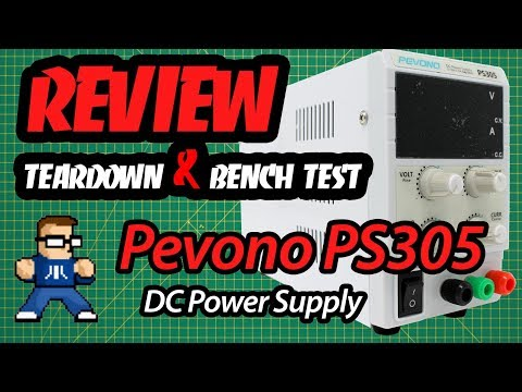Pevono PS305 Review, Teardown, and Bench Test