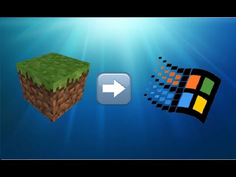 Minecraft on Windows 2000