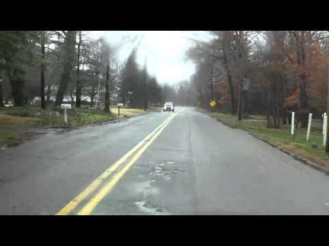 Cedar Bridge Road Pre-Pave Video (wet)