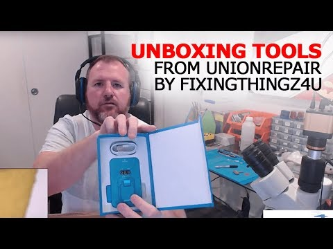 Unboxing Tools from UnionRepair By Fixingthingz4u