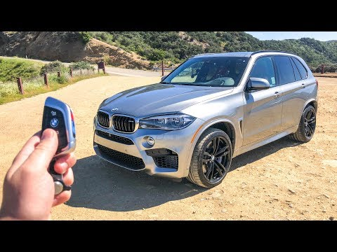 2018 BMW X5M Review - Better Than A Cayenne Turbo S?