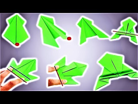 Origami Jumping Frog Tutorial Step by Step 🐸  How to make a paper frog that jumps high