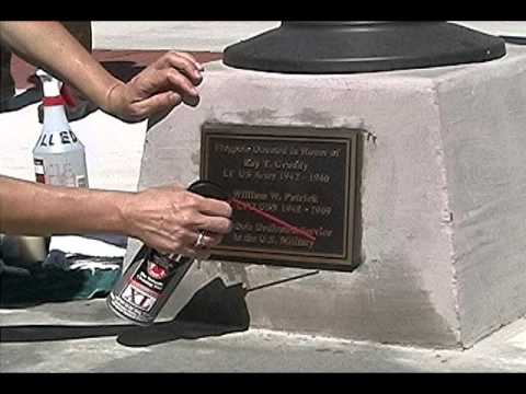 Cleaning Bronze Headstones, A Crash Course