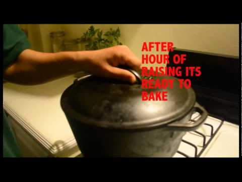 COOL WAY TO COOK DUTCH OVEN BREAD ON A STOVE TOP WITHOUT BURNING THE BOTTOM