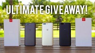 OnePlus 5 GIVEAWAY: 5 Winners!