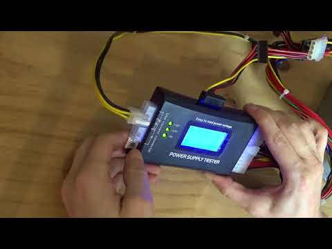 (How to) Use a Power Supply Tester