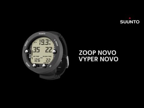 Suunto Zoop Novo & Vyper Novo - How to view logbook