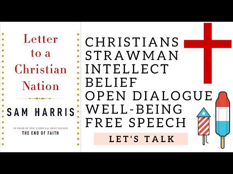 Sam Harris -  A Letter to a Christian Nation - Book Review