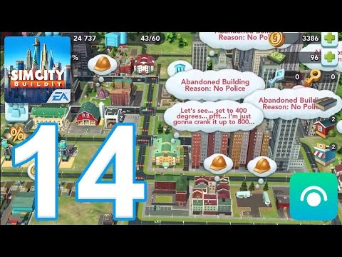 SimCity BuildIt - Gameplay Walkthrough Part 14 - Level 13-14 (iOS, Android)