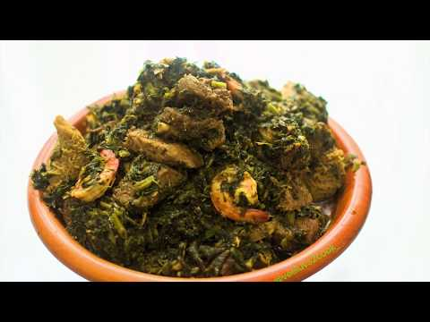 Afang soup(kale and okazi): Easy step by step recipe for beginners