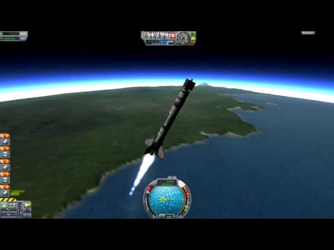 KSP - How to get into orbit