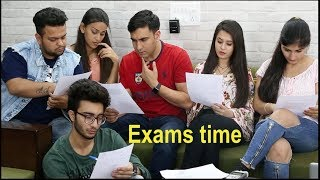Types of Students during Exams -   Lalit Shokeen Films  