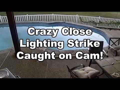 Lightning Striking a neighbors house!