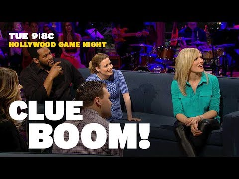 Hollywood Game Night - Clue Boom | GSN